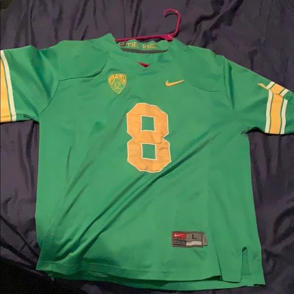 low priced 909d5 d99bc Vintage Marcus Mariota Oregon throwback jersey